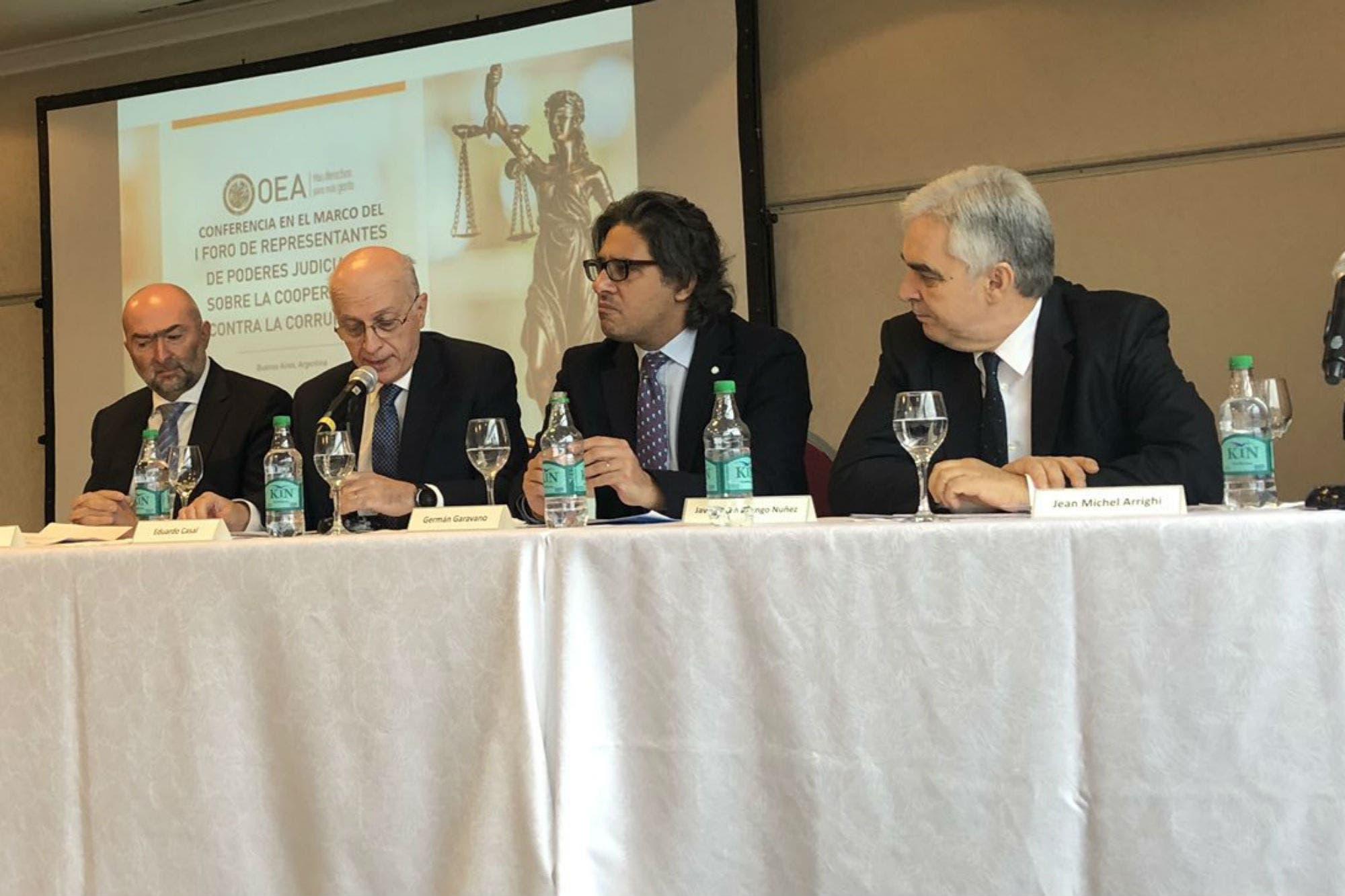 Con Lorenzetti ausente, comenzó un foro de la OEA contra la corrupción