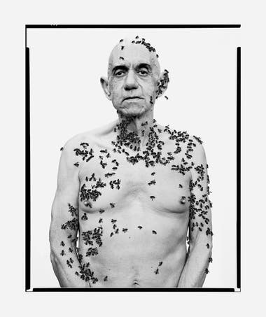 Homenaje a Richard Avedon Ronald Fisher, apicultor CALIFORNIA, 1981, 2014