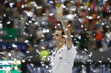 Federer se despide del público argentino