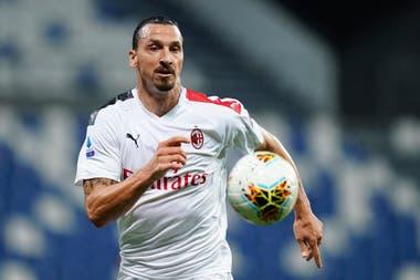 Ibrahimovic arrancó con buen pie la temporada en la Serie A de Italia. Ahora deberá mantenerse al margen un par de semanas.
