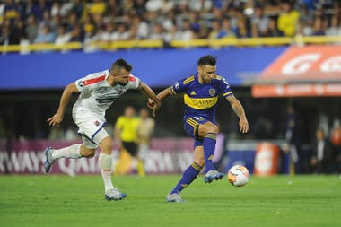 Boca se enfrentó con Independiente Medellín el 10 de marzo, en su última actuación en La Bombonera hasta hoy.