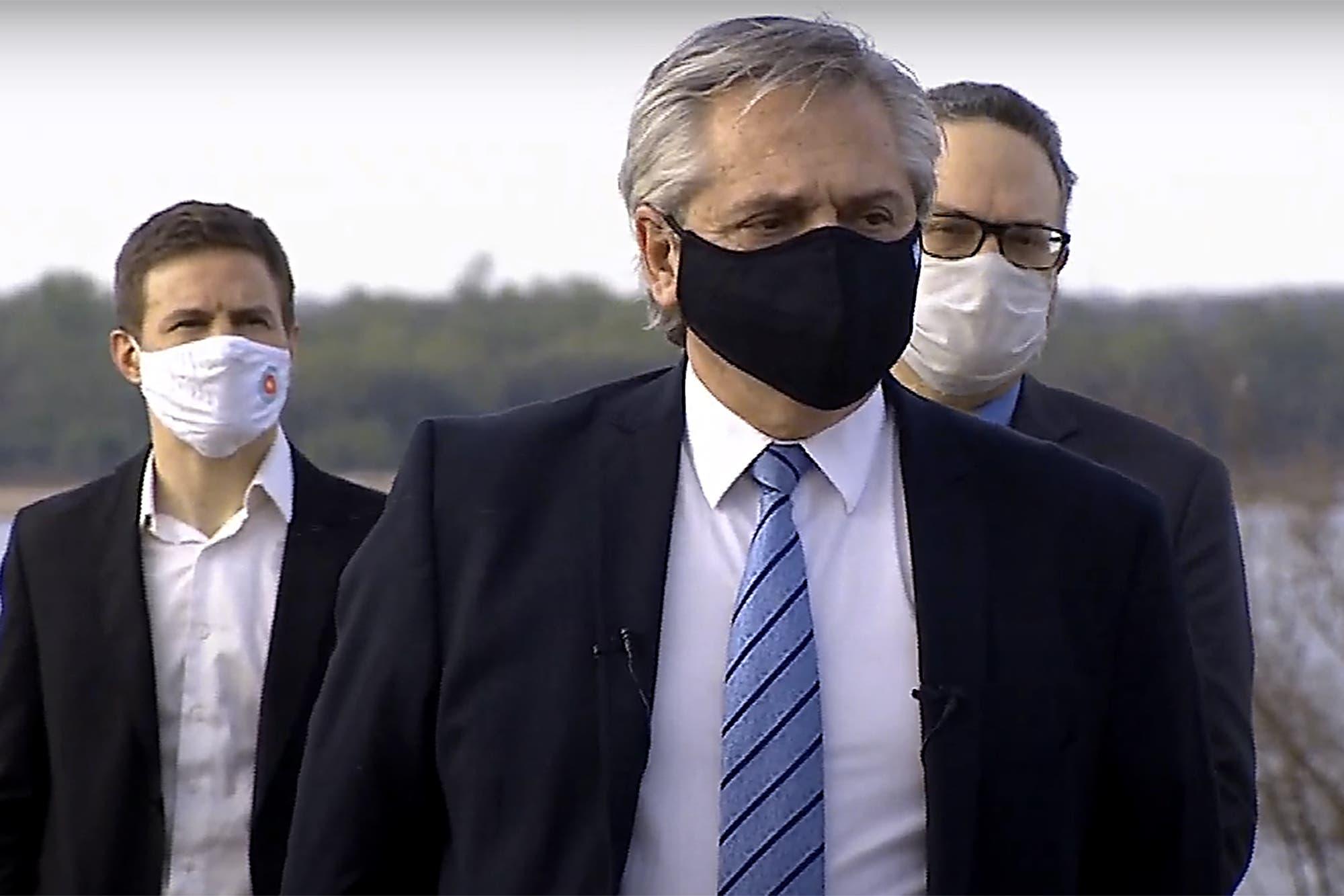 """Alberto Fernández: """"Tal vez los argentinos necesitábamos que aparezca un virus que nos una"""""""