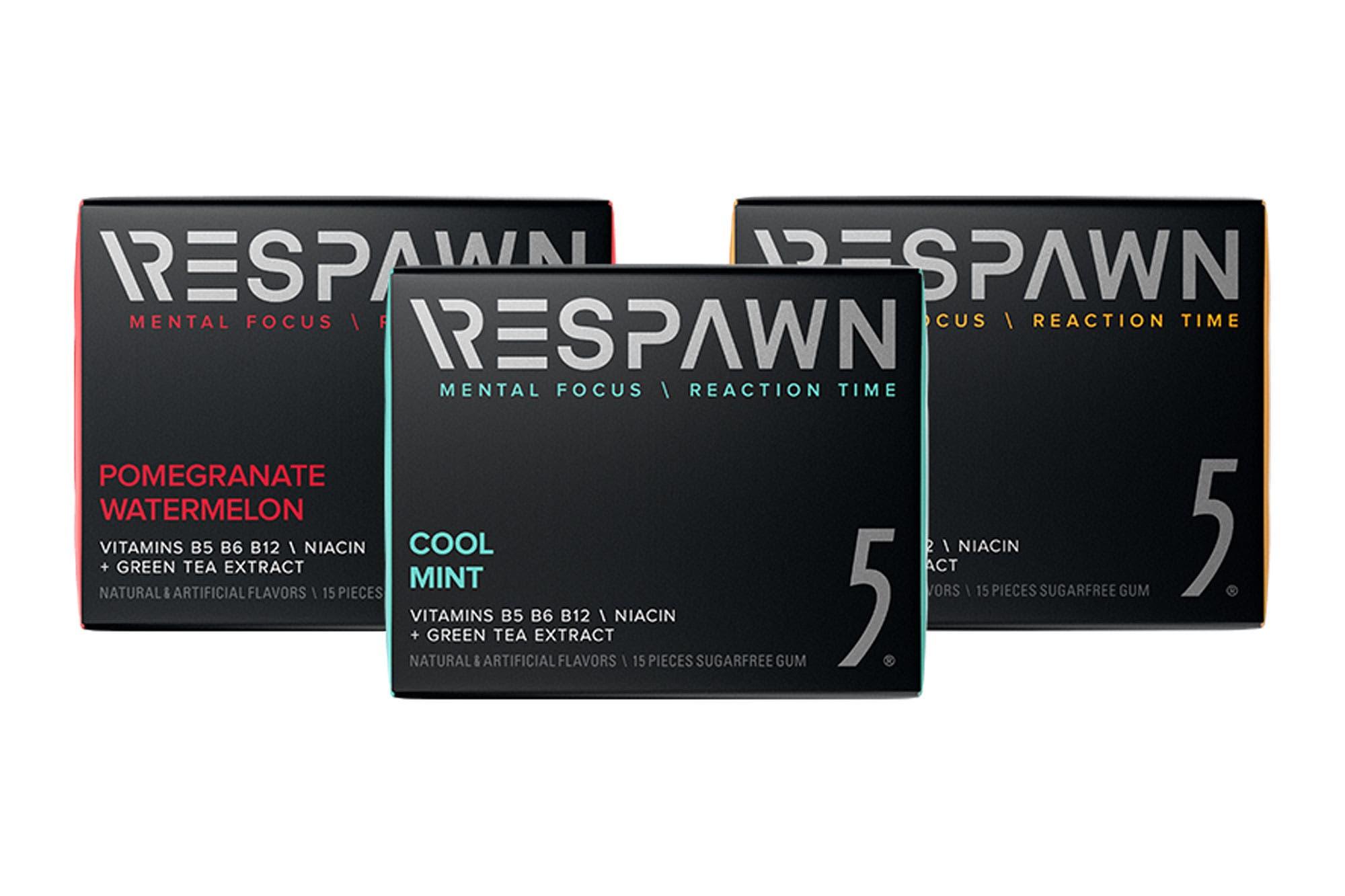 Respawn: Razer lanza chicles para mejorar la concentración de los gamers