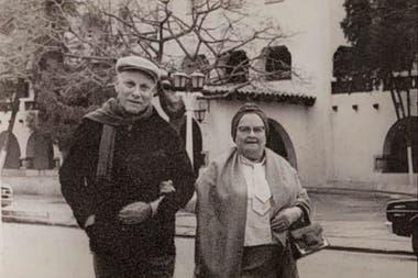 Abraham y Sara, los bisabuelos del Peque Schwartzman, en una foto del archivo familiar