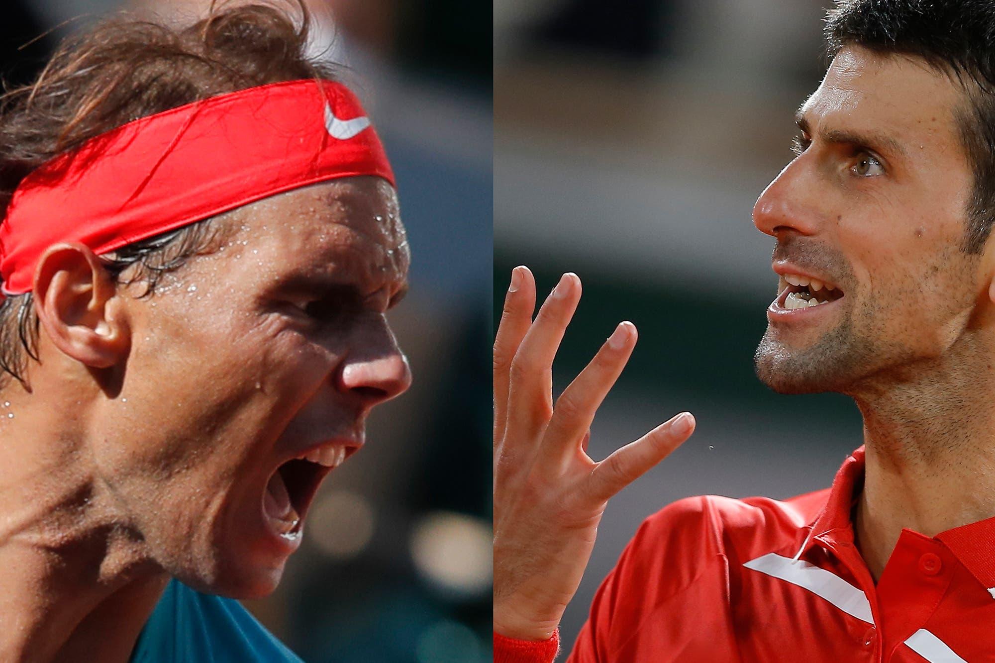 Rafael Nadal-Novak Djokovic, la final de Roland Garros: horario y TV