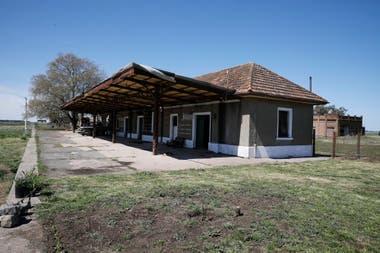 La estación ferroviaria estaba abandonada desde hacía 60 años