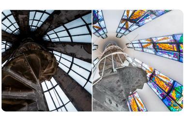 El antes y después de la cúpula