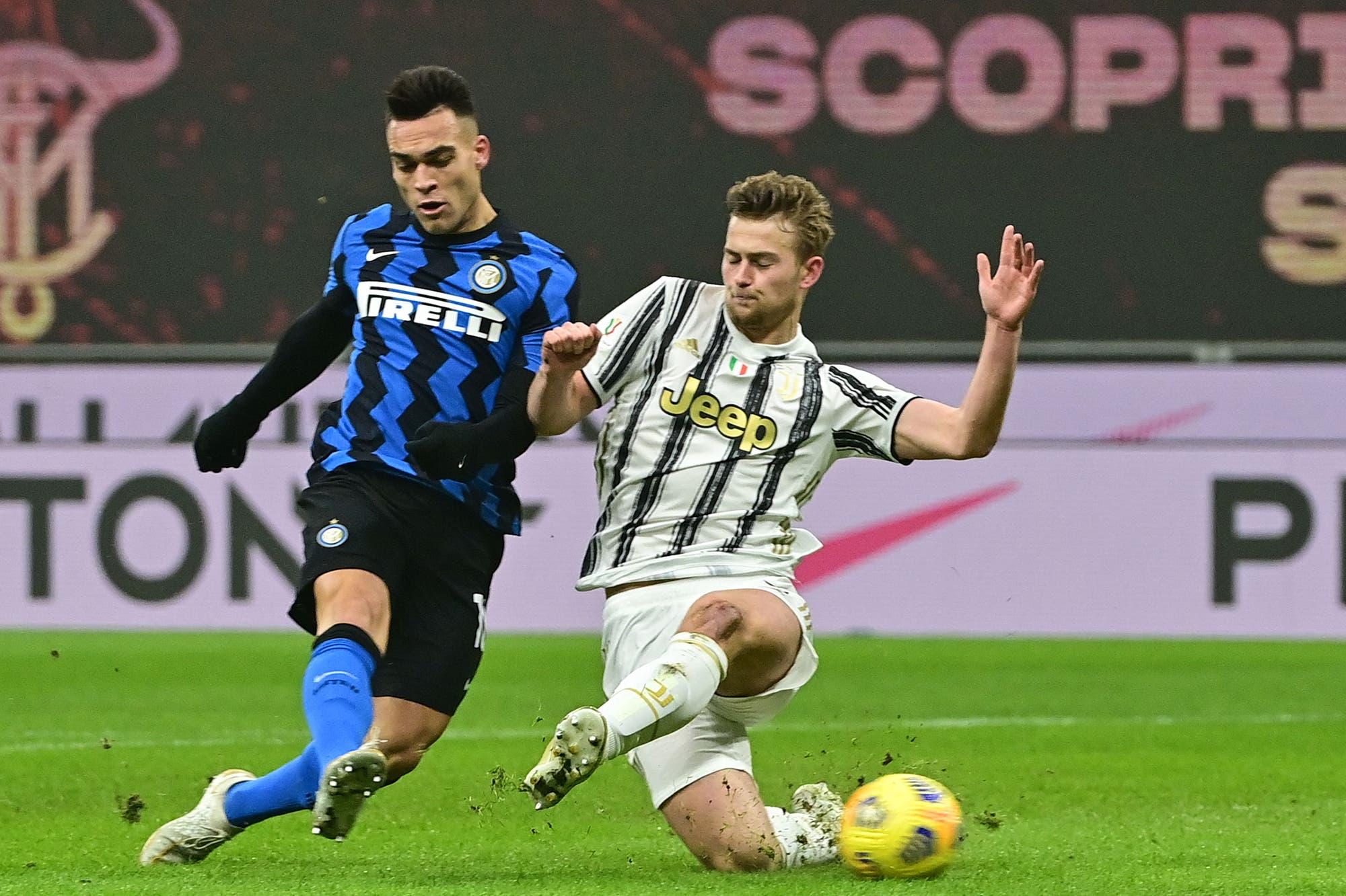 Juventus - Inter: horario y TV del desquite de la semifinal de la Copa Italia