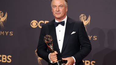 Alec Baldwin ganó el Emmy por interpretar a Donald Trump en Saturday Night Live