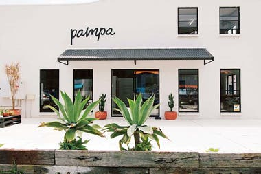 El local de Pampa, en el pueblo costero Byron Bay
