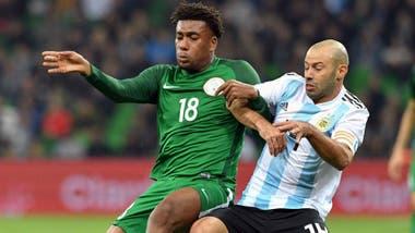 Mascherano en su último partido oficial  el 2-4 de la selección ante Nigeria d5048b0a38c1a
