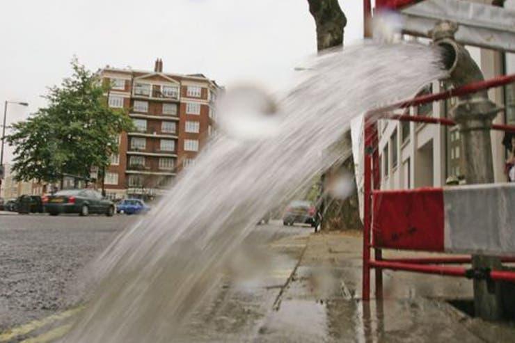 La tasa de desperdicio de agua en Londres es de 25%