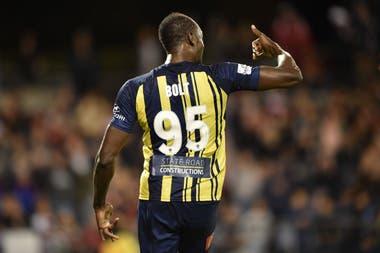 Bolt usa la 95 por su récord en los 100 metros: 9.58 segundos