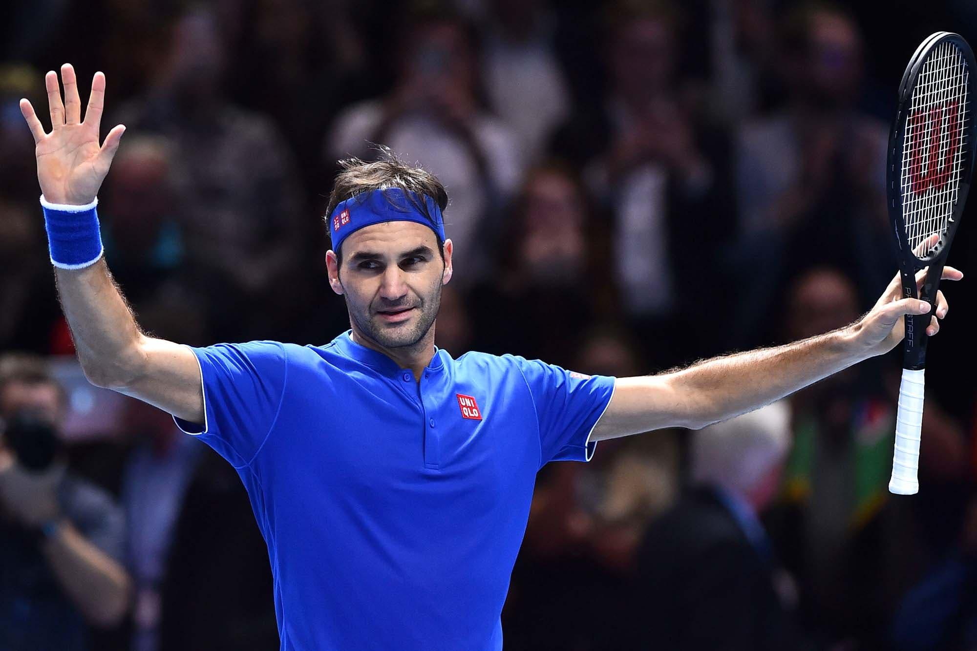 De nuevo entre los mejores: Federer venció a Anderson y se clasificó para las semifinales del Masters de Londres