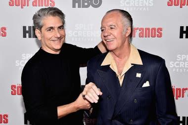 Michael Imperioli y Tony Sirico