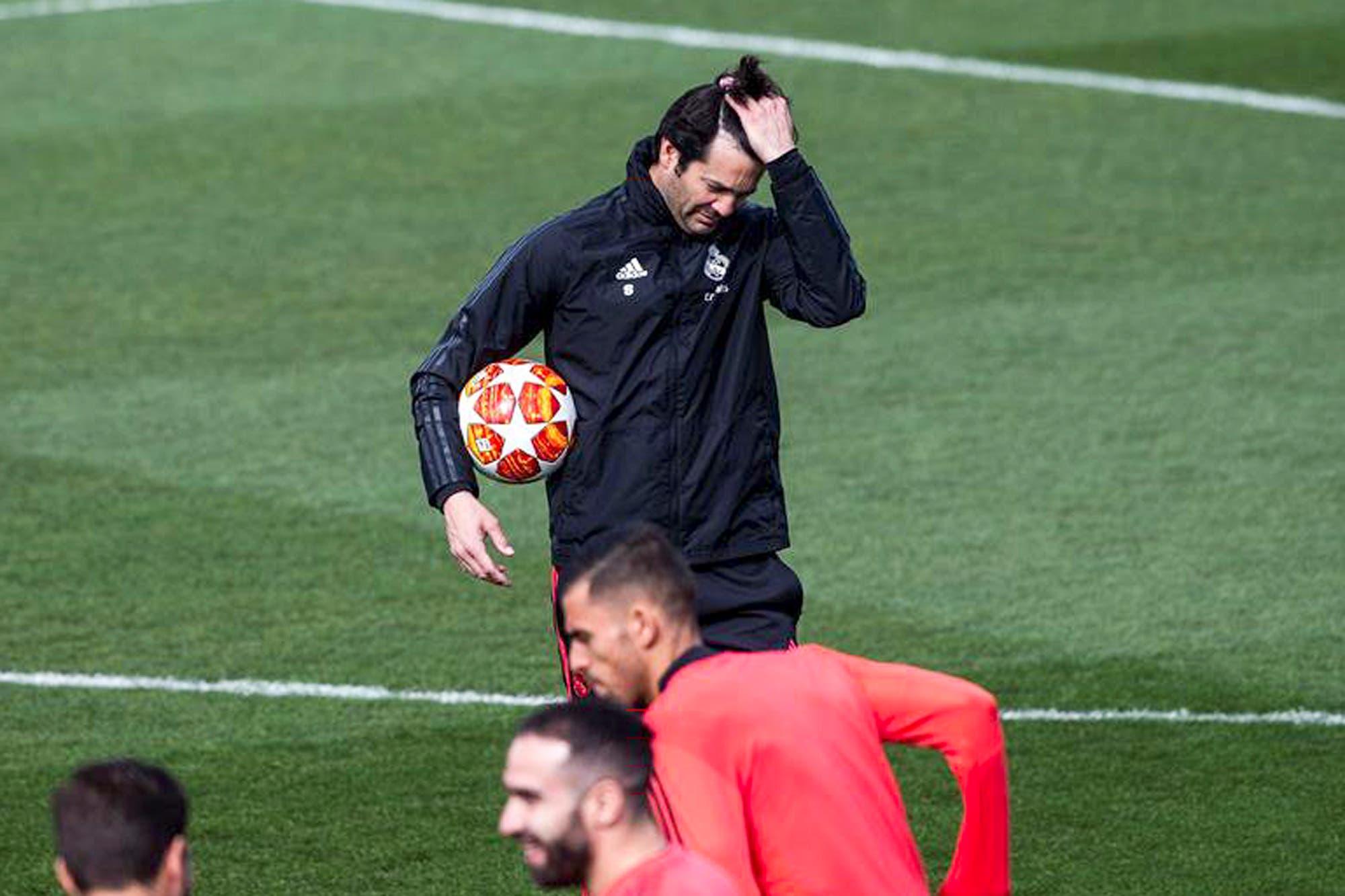 Solari le suelta la mano a parte del plantel en su cuenta regresiva como DT de Real Madrid