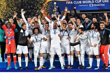 Real Madrid, último campeón del Mundial de Clubes.
