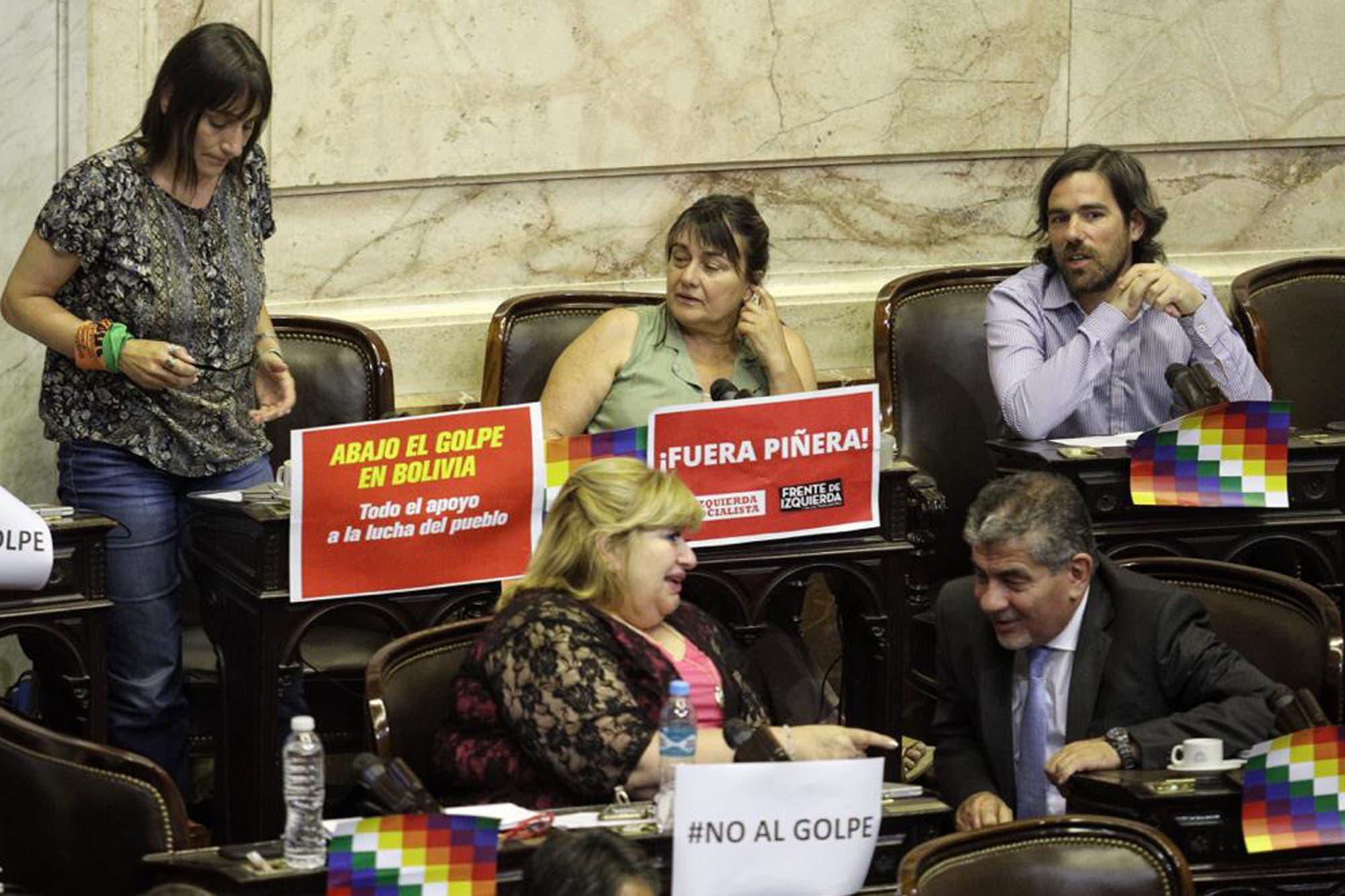 Sin acuerdo, los diputados debaten sus diferencias sobre la crisis en Bolivia