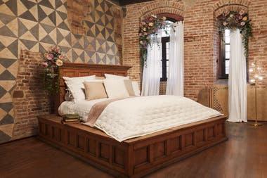 """En la habitación de Julieta se encuentra la """"Letto di Giulietta"""", la cama original utilizada en la clásica película de Zeffirelli de los años 60 que lleva el nombre de la famosa pareja. Crédito: Airbnb"""