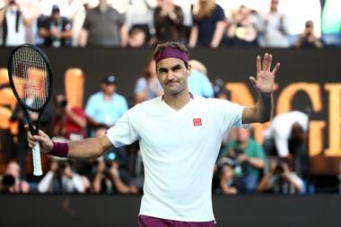 """Roger Federer admitió que no soportaría jugar sin público. """"Espero que no ocurra"""", dijo el suizo."""