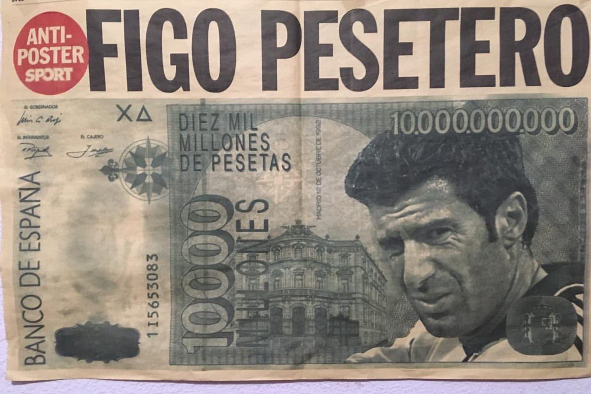 """""""Figo pesetero"""", a 20 años: el trasfondo de una salida de Barcelona a Real Madrid que marcó la historia del fútbol"""