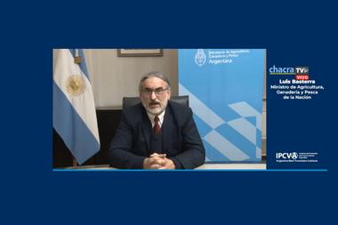 Luis Basterra participó de la apertura del seminario virtual acerca de la industria cárnica internacional, organizado por el Ipcva