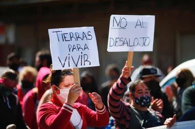 """Días atrás, la intendenta de Presidente Perón calificó de """"anárquica"""" e """"ilegal"""" a la toma de Guernica, y sostuvo que """"no se puede permitir"""" su continuidad"""