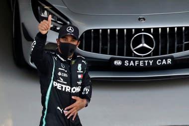 Lewis Hamilton, optimista; el líder del campeonato busca su triunfo número 91 en la Fórmula 1