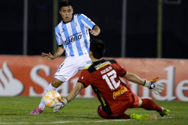 En 2015, Brian Fernández también dio positivo a un control antidóping que le realizaron luego de un partido disputado con la camiseta de Racing, su club de entonces.