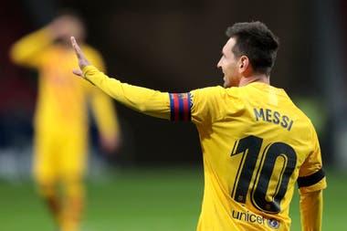 Messi, en tiempos de insólitos debates en Barcelona respecto de su continuidad