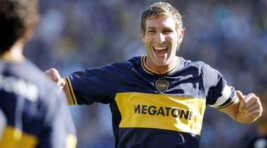 Martín Palermo es el máximo goleador en la historia de Boca Juniors