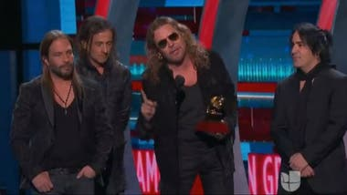 Maná y su Grammy a mejor disco pop rock