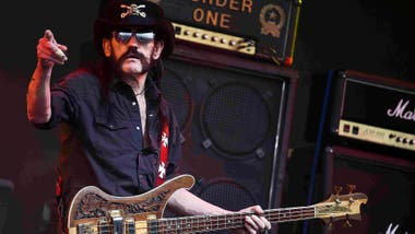 Lemmy, rockero de fina estampa