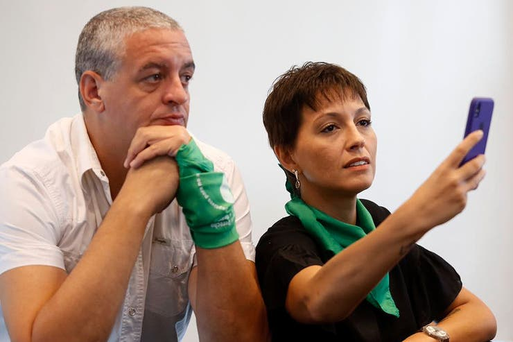 Horacio Pietragalla y Mayra Mendoza