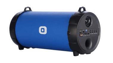 Que sea rock. El BZ 4000 de Panacom es un parlante inalámbrico que permite escuchar música por más de cuatro horas ($ 999)
