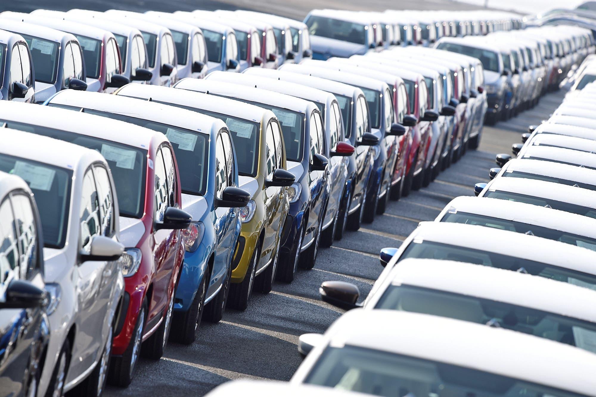 Autos: bajó un 13,4% la producción pero aumentaron 16,2% las exportaciones