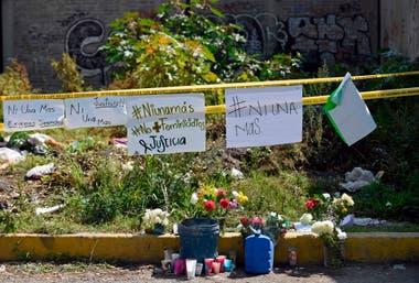 Mensajes de los vecinos en Ecatepec