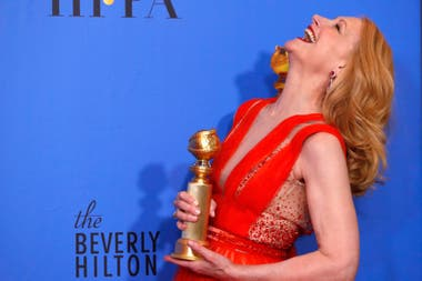 Patricia Clarkson, mejor actriz de reparto por su labor en Sharp Objects, la miniserie de HBO