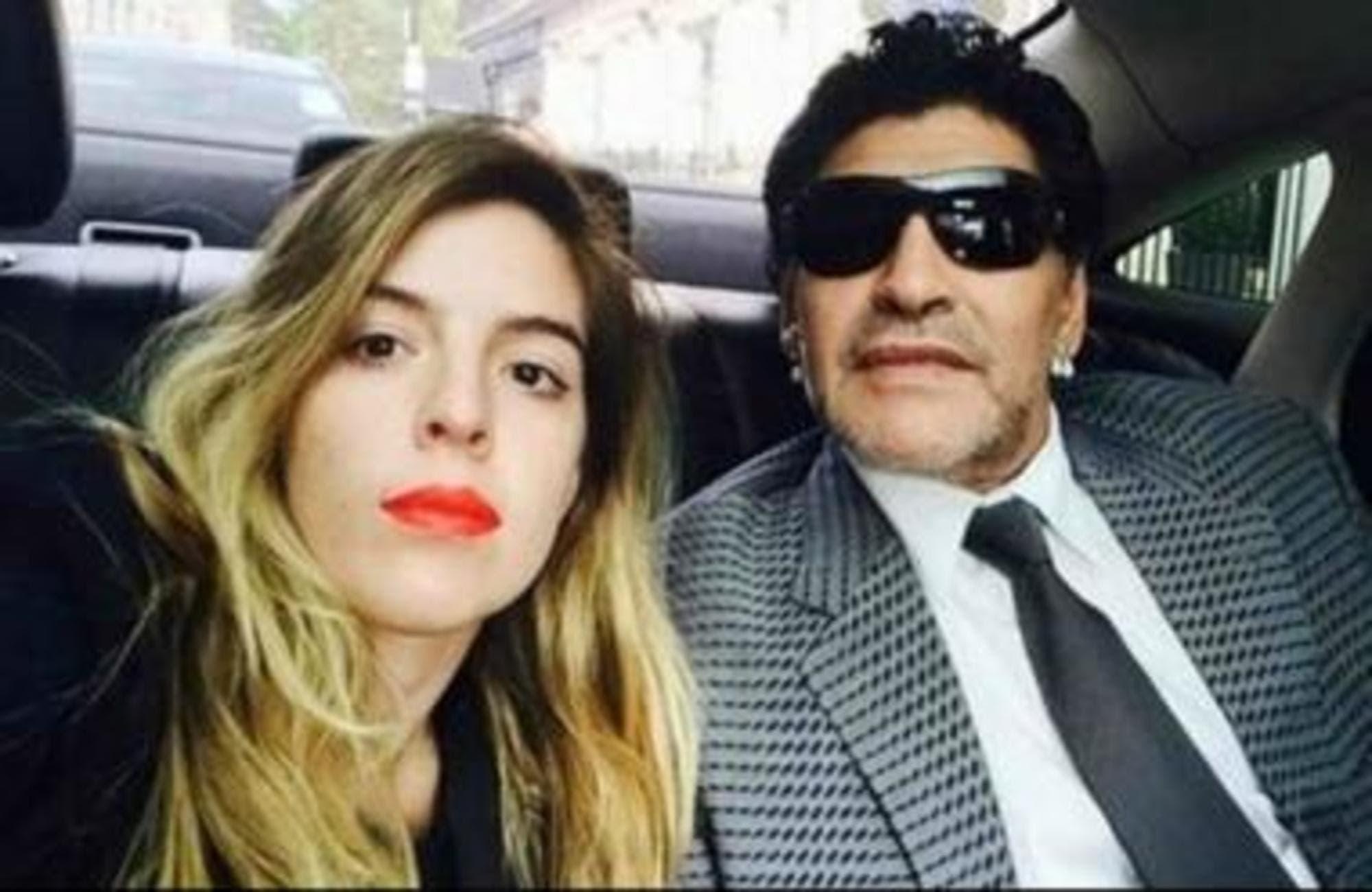El saludo de cumpleaños de Diego Maradona a Dalma con indirecta para Claudia