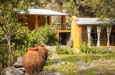 Lavandas, tilos, castaños, tabaquillos y nogales crecen en el jardín de La Constancia.