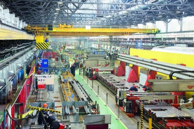 Fábrica de coches de pasajeros de Tver, Rusia