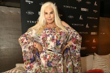 Susana Giménez le puso glamour a un exclusivo evento de Punta del Este