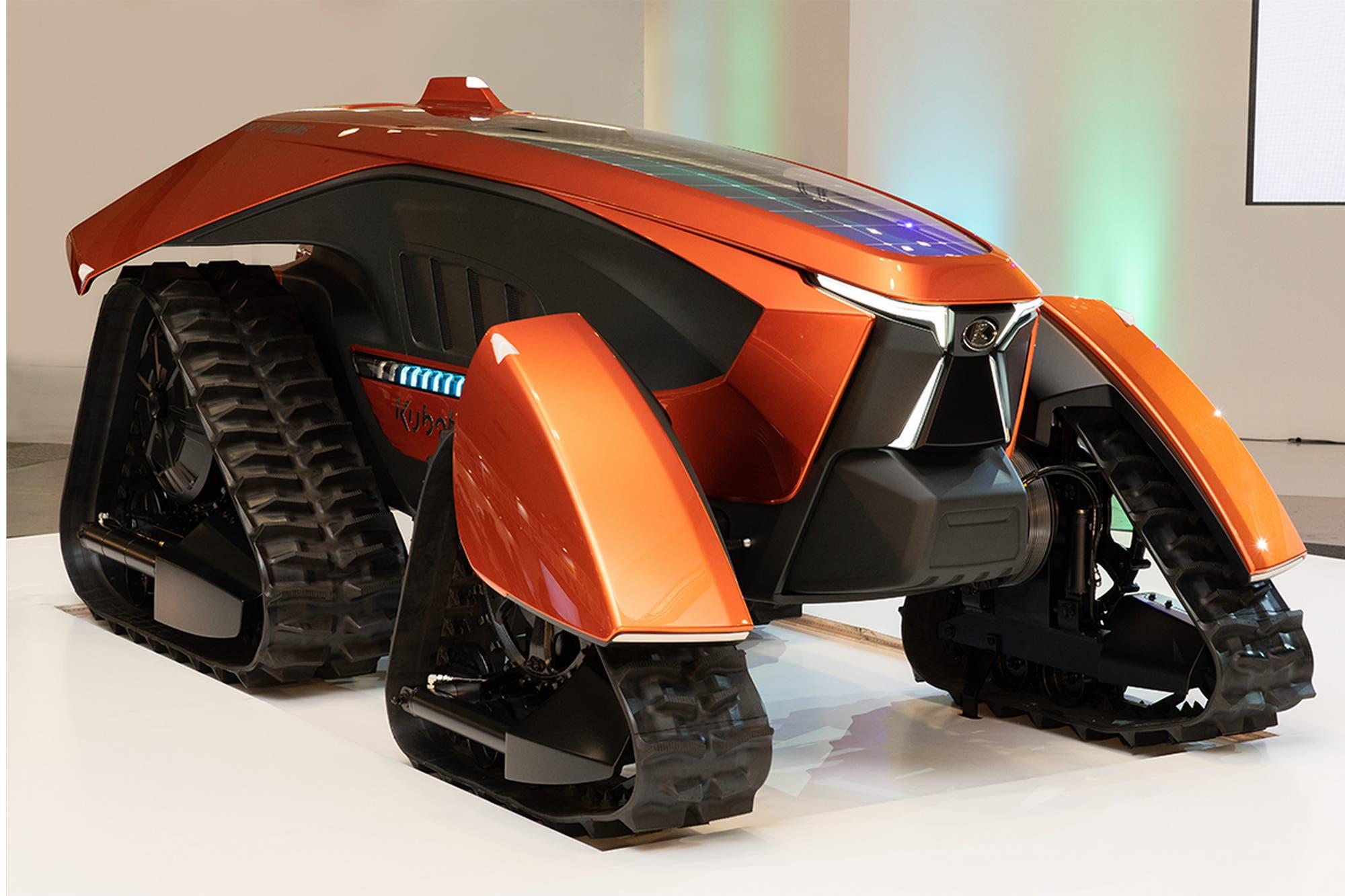 Este es X-tractor, el tractor futurista autónomo y eléctrico de Kubota