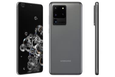 El Galaxy S20 Ultra y el bloque de cmaras traseras por sus dimensiones sobresalen del resto de cuerpo