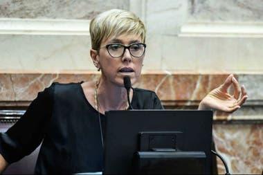 La senadora Silvina García Larraburu, autora de un proyecto para crear una nueva Junta Nacional de Granos