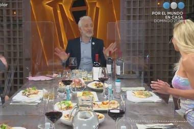 En PH: Podemos Hablar incorporaron acrílicos para separar a los invitados en la mesa tras el regreso del programa al aire