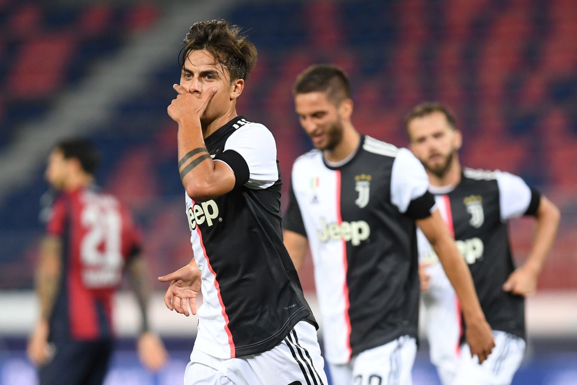 Bologna-Juventus, por la Serie A: con un golazo de Paulo Dybala, el líder ganó un partido clave por el campeonato