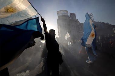 17A: los manifestantes partieron del Obelisco hacia la Plaza de Mayo