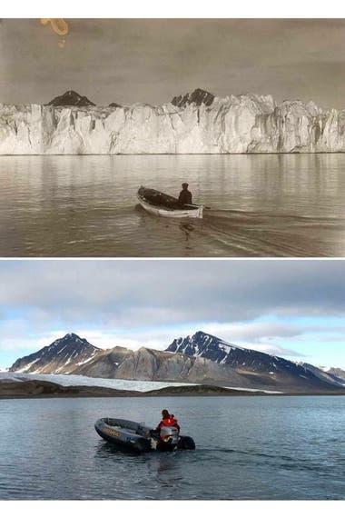 El deshielo de los glaciares del Océano Ártico en los últimos 103 años