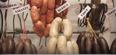 Los productos con naranja y otros condimentos creados en la carnicería